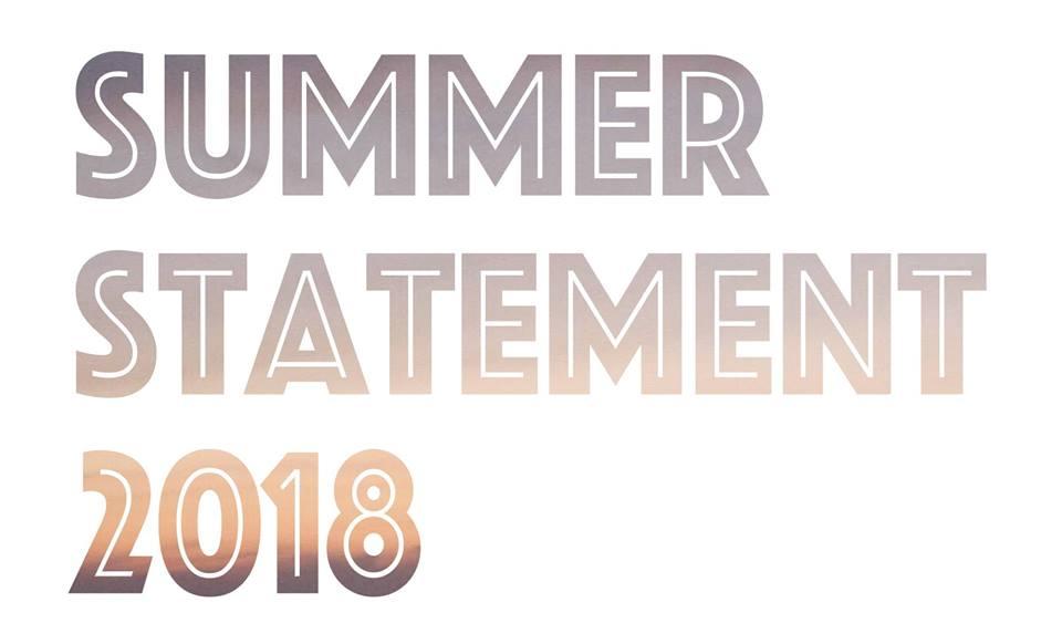 向三軒両隣トークシリーズ2018 Vol.06「SUMMER STATEMENT 2018」