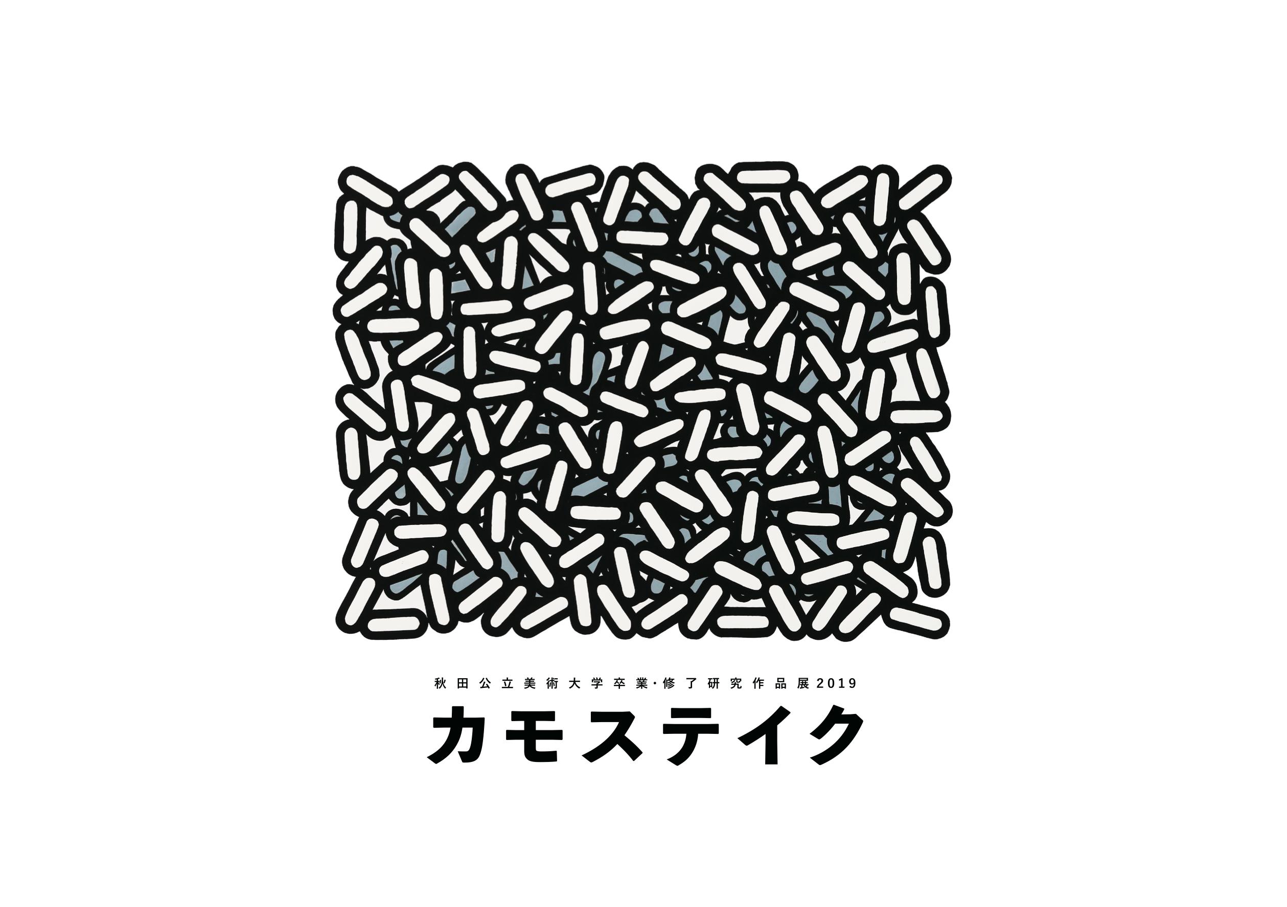 秋田公立美術大学卒業・修了研究作品展2019 「カモステイク」