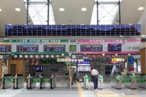 秋田駅サイネージ1
